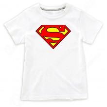 """Детская футболка с надписью """"SuperMan"""""""